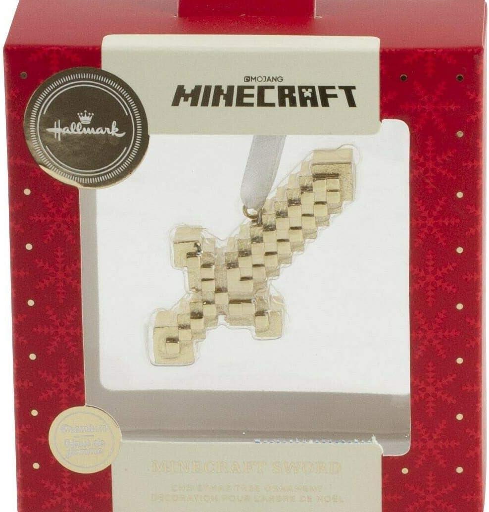 Hallmark Minecraft SWORD-11 Premium Christmas Ornament