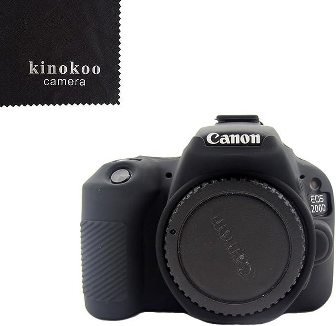 Kinokoo Schutzhülle Aus Silikon Für Canon Eos 1300d Kamera