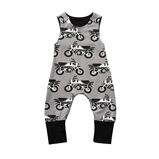 Mother & Kids Rompers Newborn Infant Baby Boy Girl Clothing Sleeveless Cute Animals Romper Cotton Jumpsuit Outfits Clothes Boys 0-5t