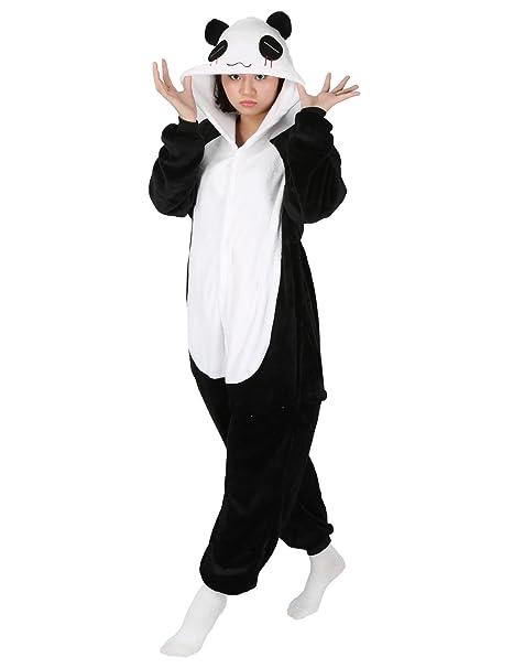 Très Chic Mailanda–Disfraz de oso panda para adultos