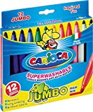 2015 art ca - Carioca Jumbo Felt Tip Classic Markers (Set of 12 Markers)