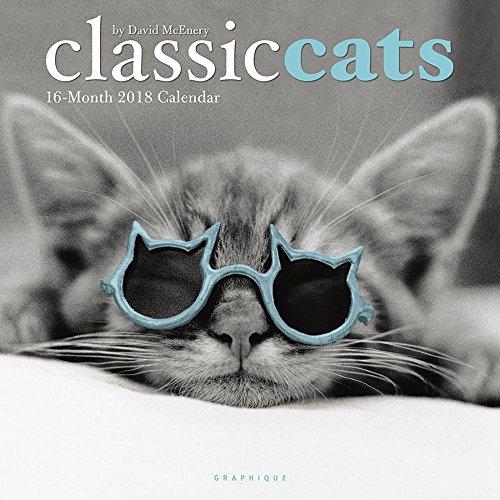Classic Cats 2018 Wall Calendar