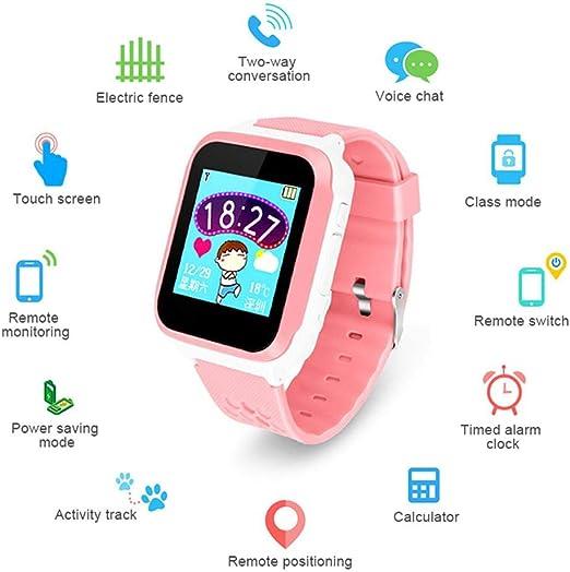 LayOPO Smartwatch GPS para niños, 1.44 Inch Touch Anti-Lost Smart ...