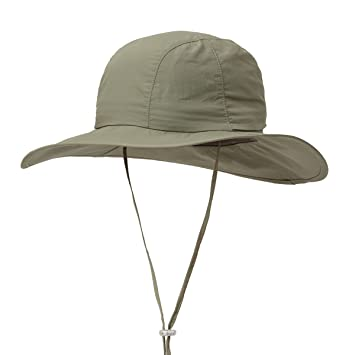 b2921cf24 Surblue Crushable Ventilated Bucket Wide Brim Sombriolet Sun Hat Safari Hat  -Sun Protective UPF 50+