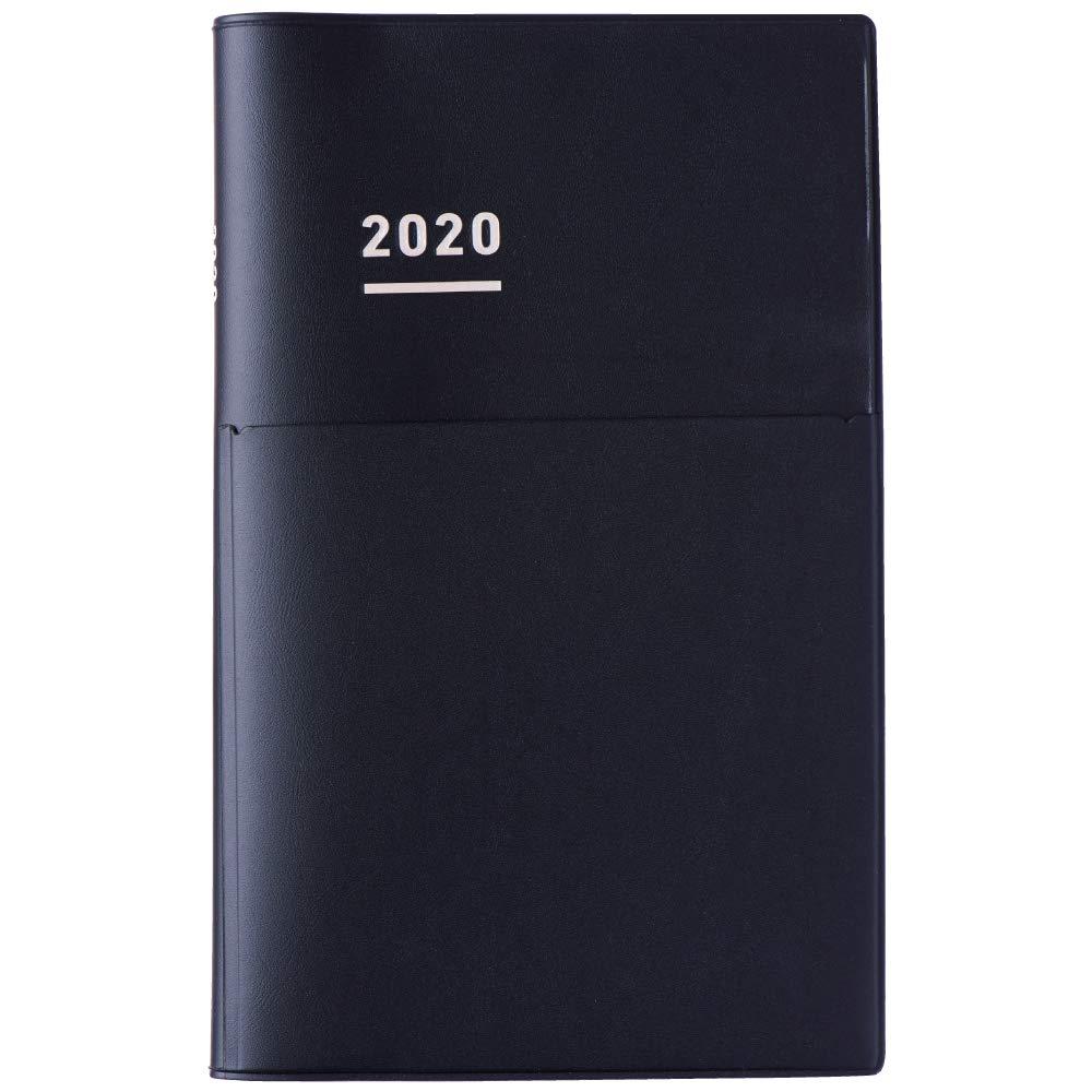 Kokuyo Jibun Techo 2020 Diary Dec Start A5 Slim Matte Black Biz by Kokuyo