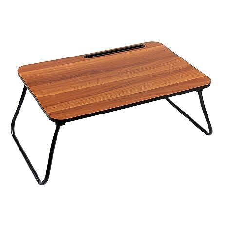 Groovy Amazon Com Homebi Lap Desk Tray Table Foldable Notebook Theyellowbook Wood Chair Design Ideas Theyellowbookinfo