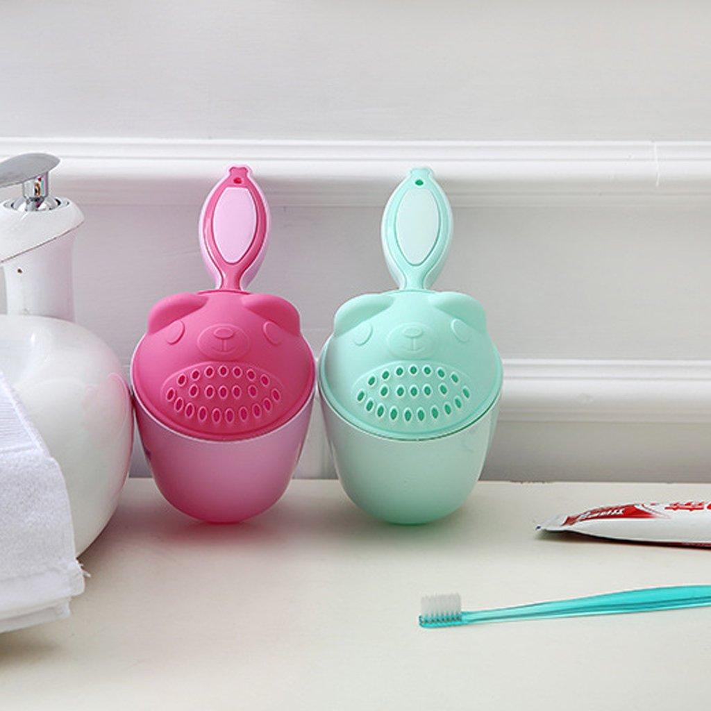 Guoyy Coupe de shampooing pour Enfants Cuill/ères De Douche Enfants