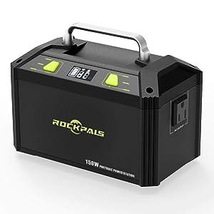 Rockpals K27 178Wh AC出力150W ポータブル電源