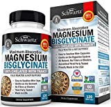 Best Magnesium Glycinates - Magnesium Bisglycinate 100% Chelate TRAACS. No-Laxative Effect. Maximum Review