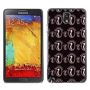 PatternViking PC Polycarbonate Aluminium Back Case Cover Samsung Galaxy Note 3 III ( cute penguin )