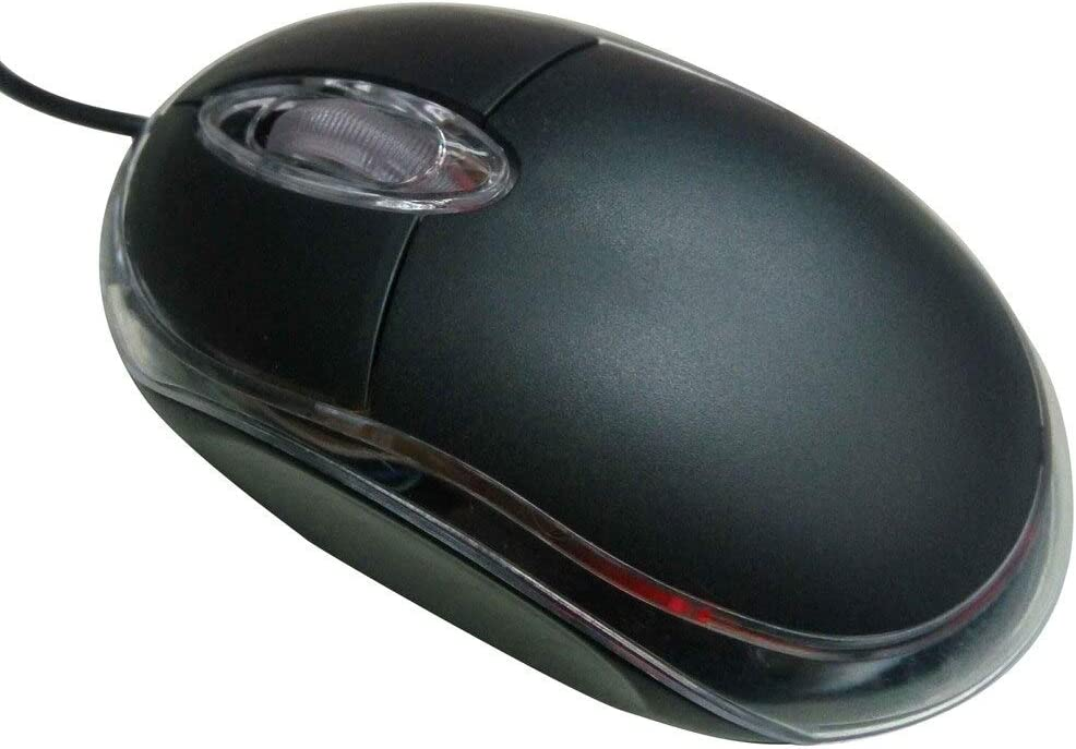 Calvas New 1pc Mini Mouse Wireless USB Wired Optical Gaming Mouse For PC Laptop Computer fe8 Color: Green