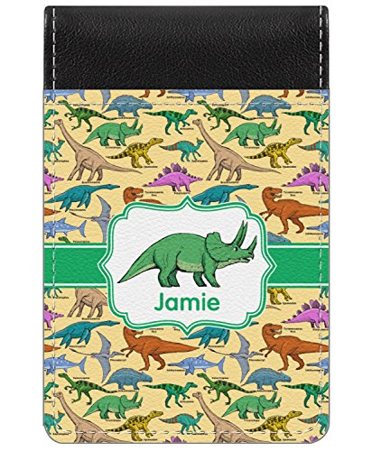 - Dinosaurs Genuine Leather Small Memo Pad (Personalized)