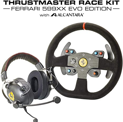 Thrustmaster Race Kit - Volante de carreras: replica desmontable ...