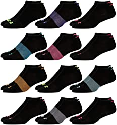 Avia Womens 12 Pack Athletic Low Cut Socks