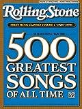 Rolling Stone Sheet Music Classics, Vol 2: 1970s-1990s (Rolling Stone Magazine)