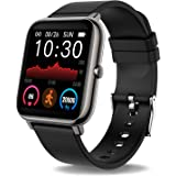 Donerton Smart Watch, Fitness Tracker 1.4 for Android Phones, Fitness Tracker with Heart Rate and Sleep Monitor, Activity Tra