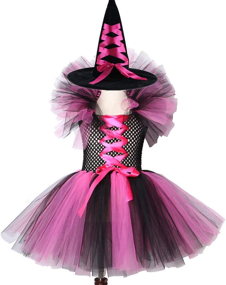 QWER Bruja de Vestido con tutú Rosa Caliente y el Carnaval de ...