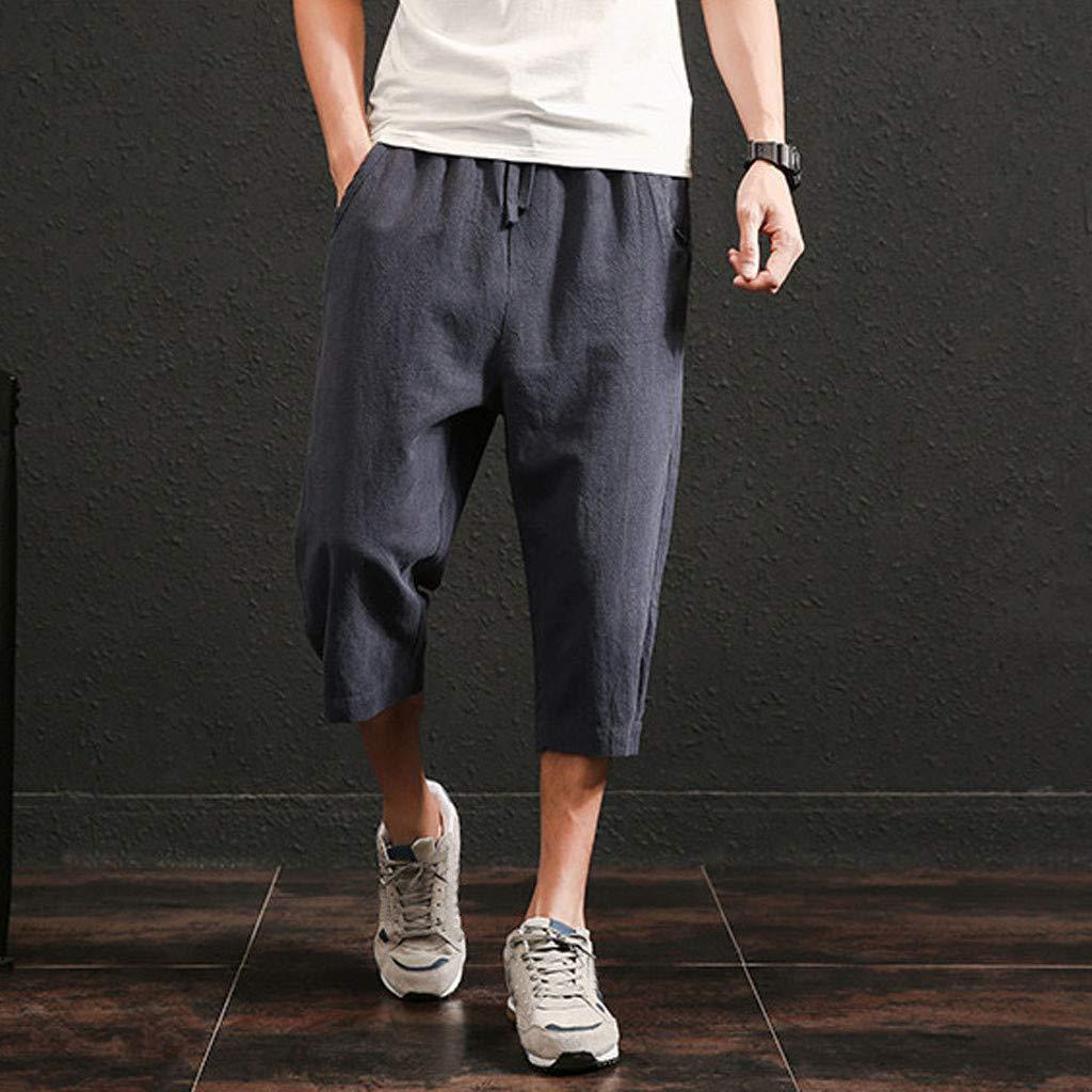 Pantalones Hombre Vestir Tallas Grandes Pantalones de Verano ...