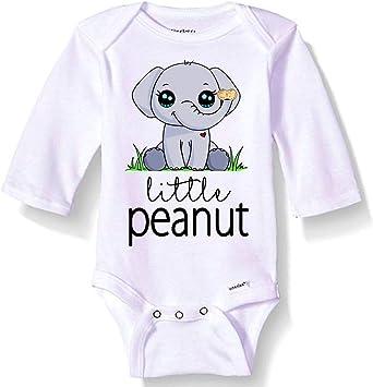 Little Peanut 100/% Organic Gerber Onesie Novelty Baby bodysuit shirt outfit