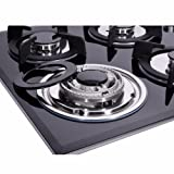 Deli-kit DK145-A01S 24 inch 4 Burners gas cooktop