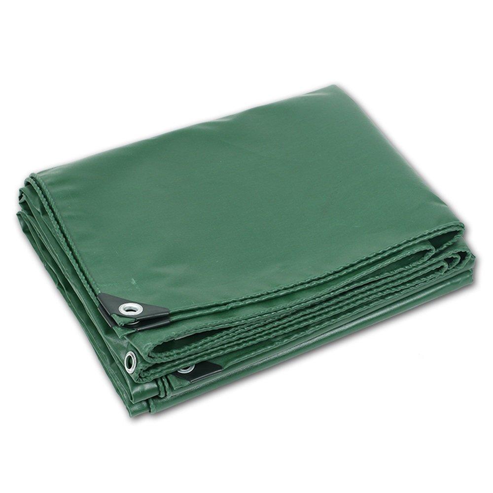 防水日焼け止め肥厚防水0.35ミリメートルグリーンPVC屋外防水車の保護シート作物カバー雨450グラム/平方メートル(15サイズがご利用いただけます) (色 : Green, サイズ さいず : 3 * 3m) B07FYXJSPV 3*3m|Green Green 3*3m