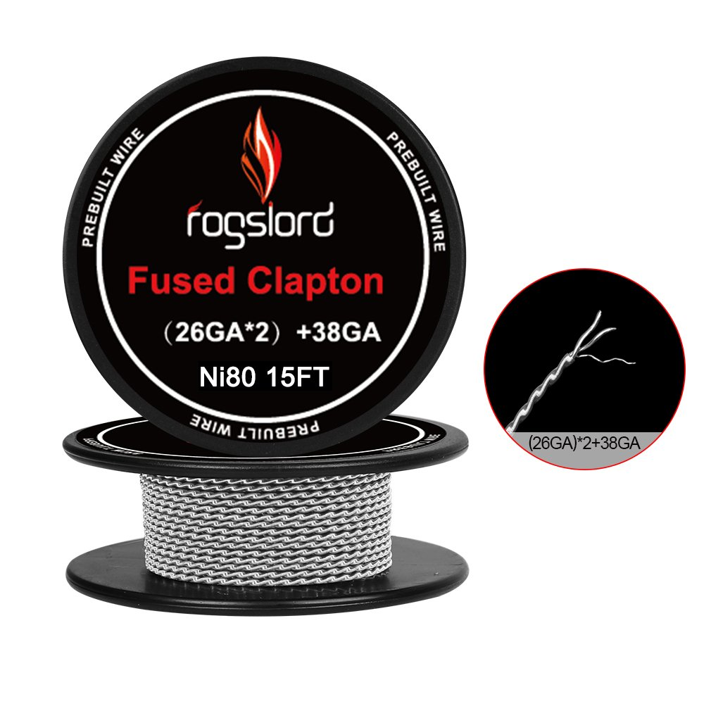 15 ft. AWG (26GAx2)+38GA Prebuilt Resistance Wire Nichrome 80 Coils for Household Wiring Use