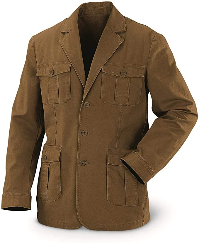 1920s Men's Clothing Guide Gear Mens Sportsmans Field Jacket $39.99 AT vintagedancer.com