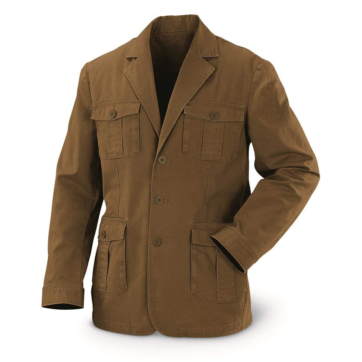 Amazon.com  Guide Gear Men s Sportsman s Field Jacket  Clothing ef5ebc734