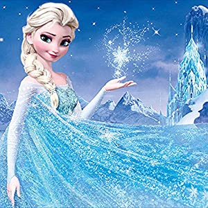 Amazon Com Diy 5d Cool Disney Frozen Elsa Diamond