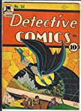 Detective #54 DC Golden Age Batman CGC 5,5