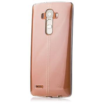 LG G4 | iCues transparente TPU Claro | Transparente lámina protectora caso de la piel Claro Claro gel de silicona transparente de protección ...