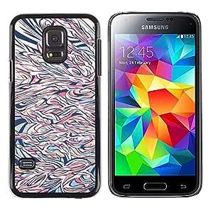 Be Good Phone Accessory // Dura Cáscara cubierta Protectora Caso Carcasa Funda de Protección para Samsung Galaxy S5 Mini, SM-G800, NOT S5 REGULAR! // Art Painting Modern Drawing