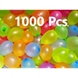 Jiada Non Toxic Holi Water Balloons Multicolor (Pack of 1000)