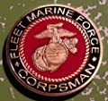 USMC Marine Corps Fleet Marine Force Corpsman Military Challenge Art Coin from HMC