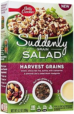 Betty Crocker Suddenly Grain Salad, Rice Dinner Kit - Harvest Grains - 6.7 oz