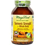 MegaFood - Turmeric Strength for Whole Body, Supports Healthy Aging, 120 Tablets (FFP)