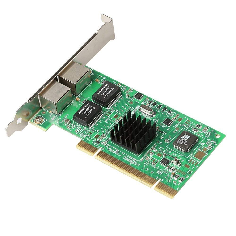DIEWU Official for Intel Chipset 82546 Dual Port Gigabit 8492MT PCI Server Network Card 1000M RJ45 NIC Ethernet Desktop Adapter (Intel8492MT(82546) by DIEWU Official (Image #2)