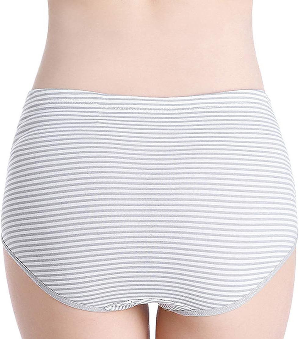 Lot de 3 Culottes Grossesse Taille Haute Coton R/églable Maternit/é Slip Confortable Enceinte Grande Taille sous-V/êtements