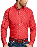 Ariat Men's Colton Print Western Shirt Red Large - Best Reviews Guide