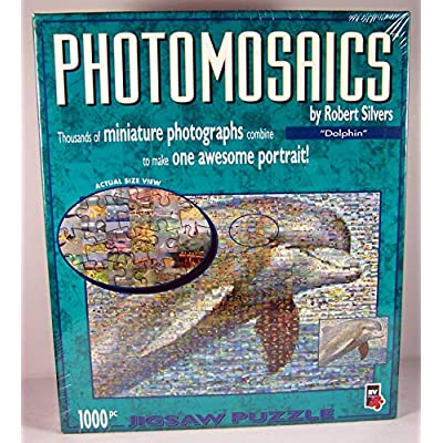Photomosaics By Robert Silvers Dolphin Jigsaw Puzzle By Bv Leisure Ltd