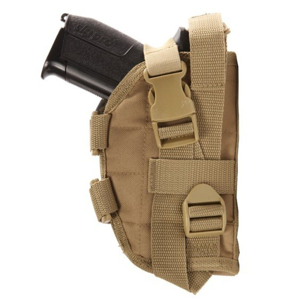 Holster fixation molle ares camouflage cam centre europe Tan kaki - cam centre europe