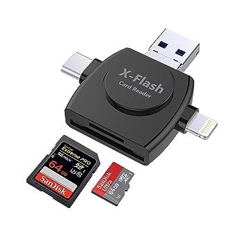Amazon.com: Micro SD y TF lector de tarjetas, lector de ...