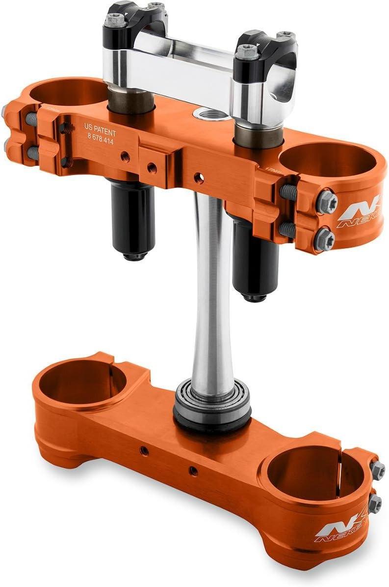 Neken 0509060 SFS Spring Complete Triple Clamps Orange
