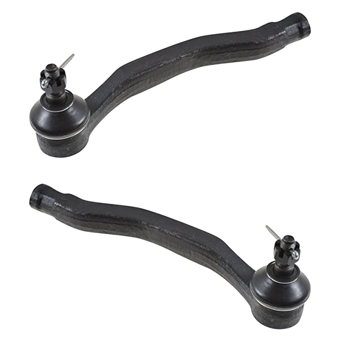 Front Inner Inside Tie Rod End Set Pair for 90-93 Accord
