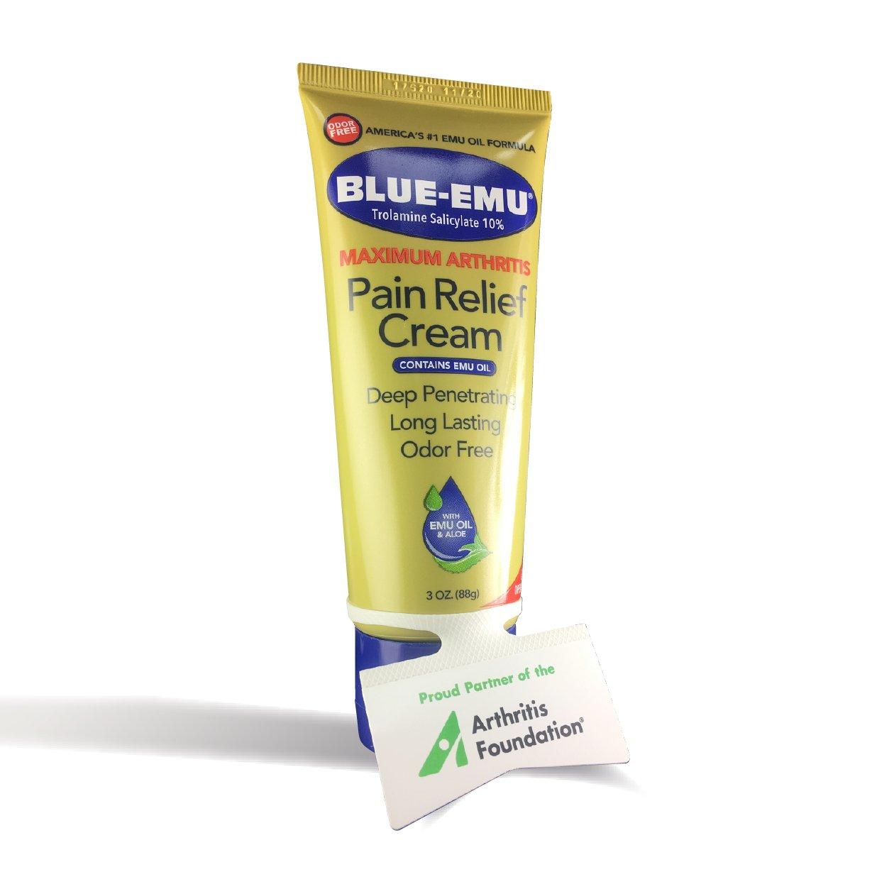 Blue Emu Maximum Arthritis Pain Relief Cream, 3 Ounce by Blue Emu