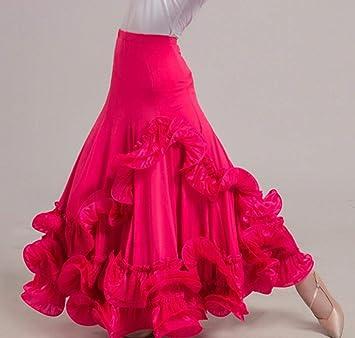 SMACO Danza de Las Mujeres Faldas de Baile largas de la Ropa de la ...