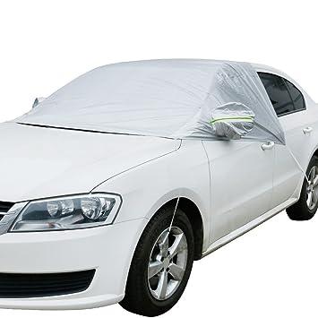Amazon.es: Anpro coche parabrisas cubierta de nieve elástico - hielo, sol, Frost y a prueba de viento en todo tipo de clima protector contra congelación ...
