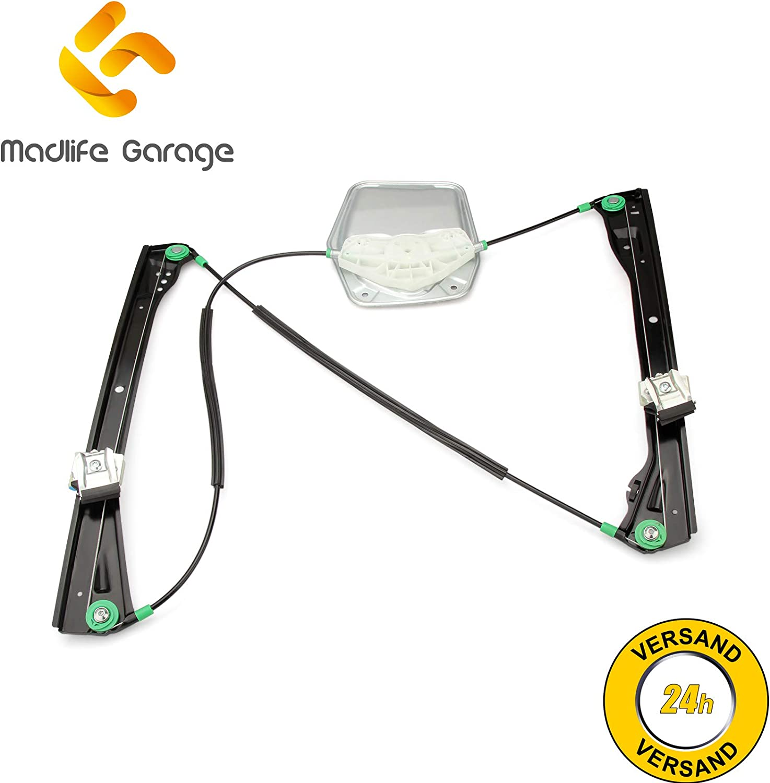 Madlife Garage 1U0837461B Elektrisch Fensterheber Vorne Links ohne Motor 4//5 T/ürig Octavia 1U2 1U5