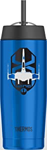 Thermos Star Wars Episode VII 16 Ounce Cold Cup with Straw, X-Wing