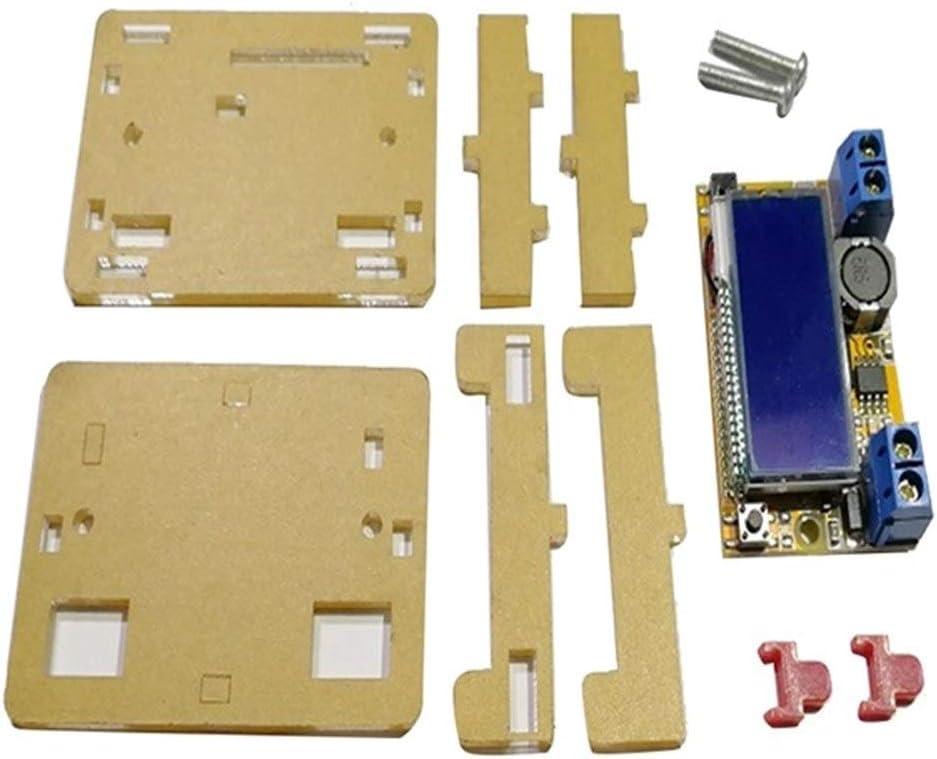 Jinnuotong デュアルディスプレイ電流計、電圧計の表示LCDを有するDC-DCは、調節可能な降圧レギュレータ電源モジュール